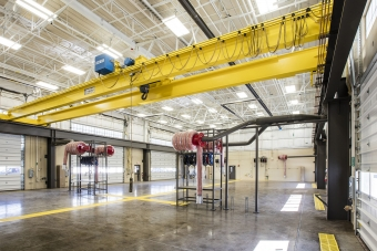 Timberlake Construction project - Combined Support Maintenance Shop (CSMS)
