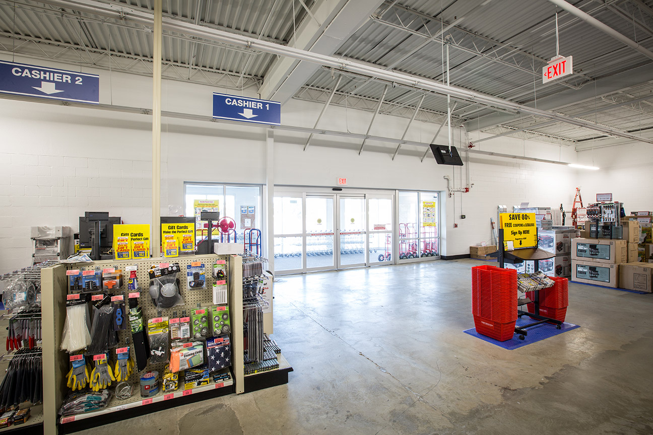 Timberlake Construction project - Harbor Freight Tools