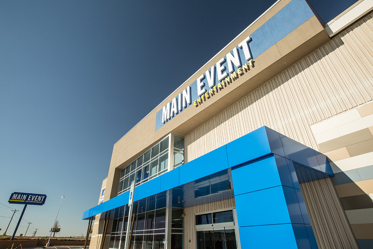 Timberlake Construction project - Main Event Entertainment Tulsa