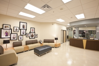 Timberlake Construction project - Oklahoma Blood Institute Headquarters