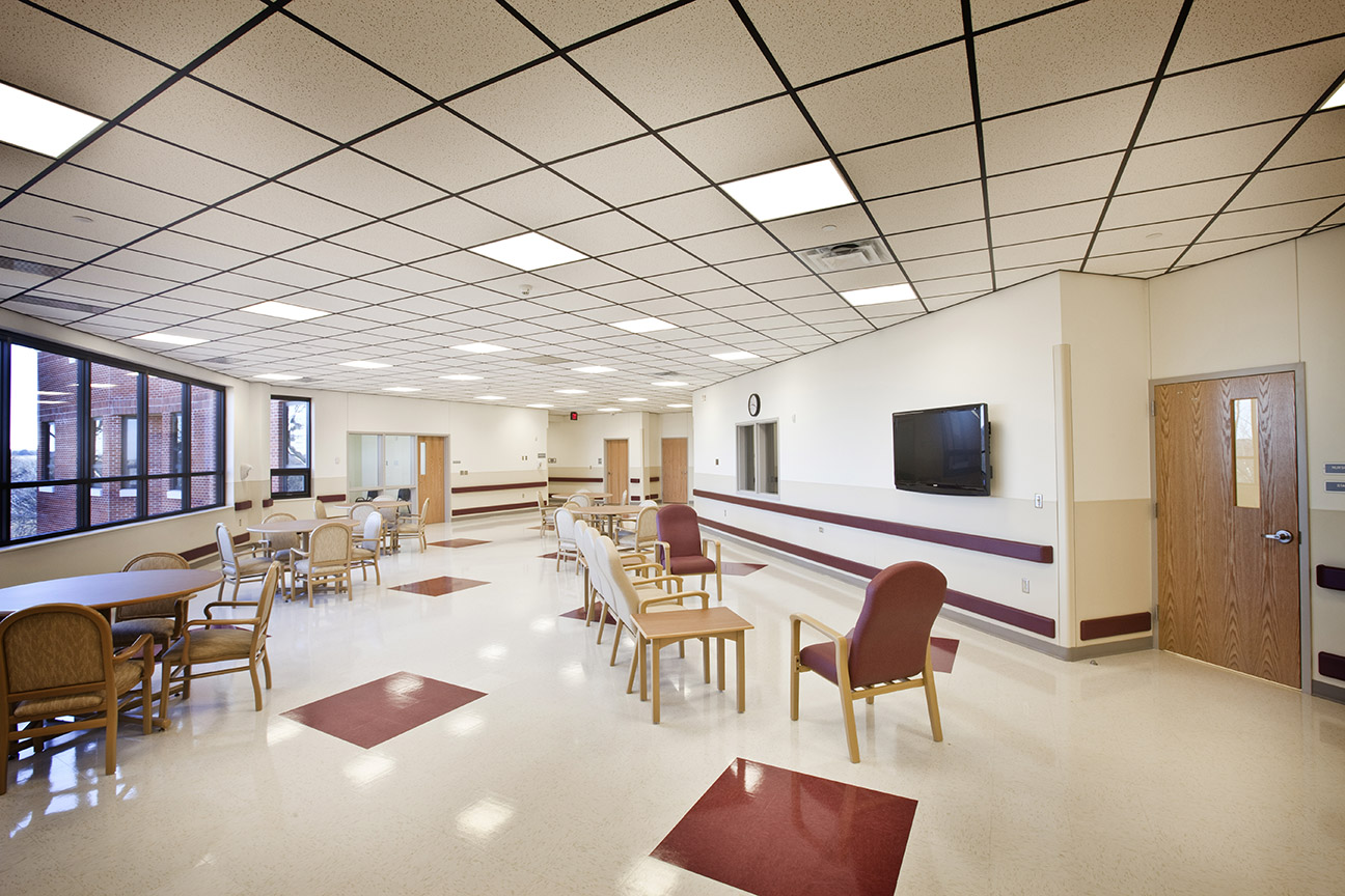 Timberlake Construction project - Oklahoma Veterans Administration Center & Hospital