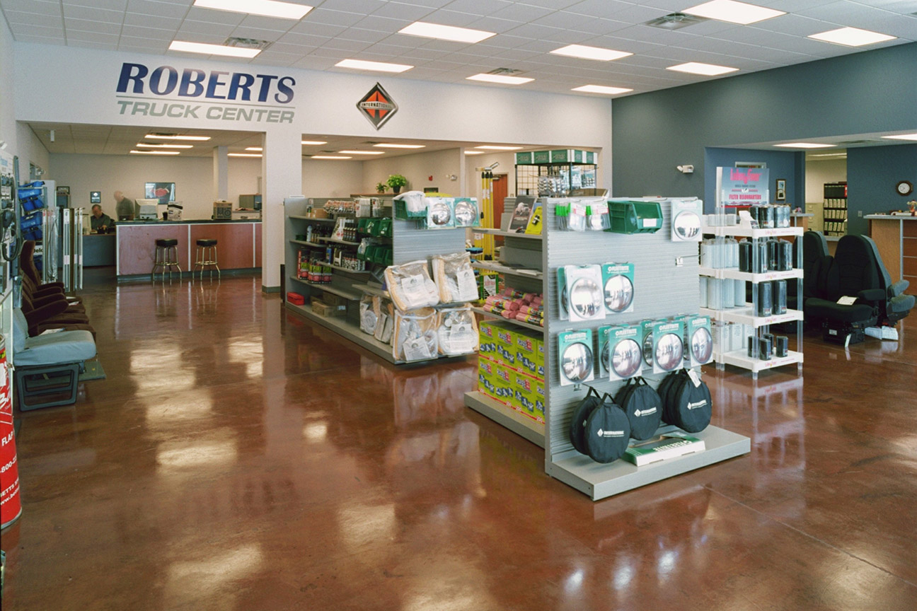 Timberlake Construction project - Roberts Truck Center