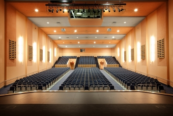Timberlake Construction project - Langston University I.W. Young Auditorium