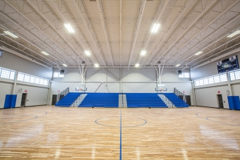 Timberlake Construction project - Highland East Junior High Gymnasium