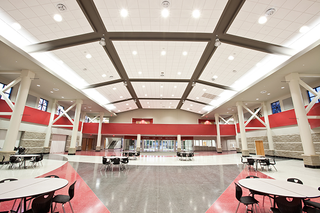 Timberlake Construction project - Mustang High School