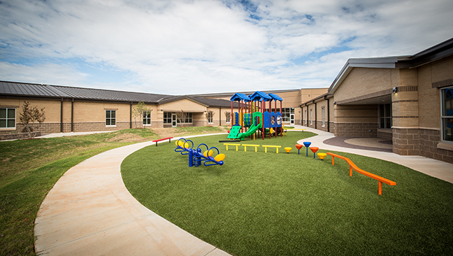 Timberlake Construction project - Mustang Prairie View Elementary School