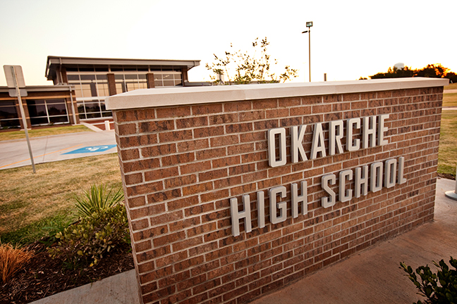 Timberlake Construction project - Okarche High School