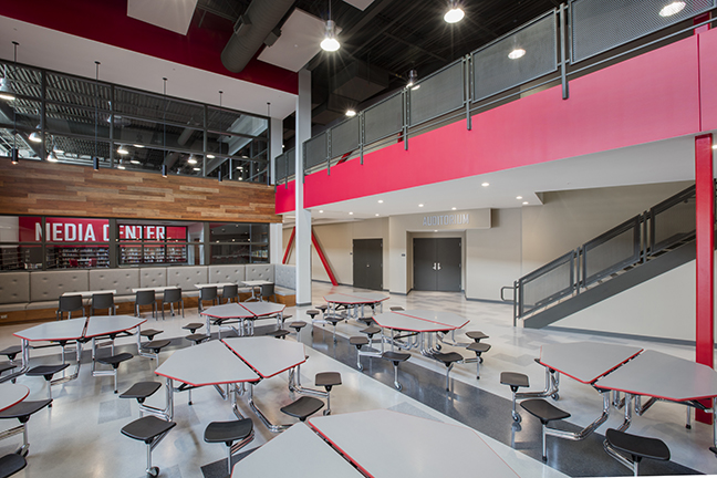 Timberlake Construction project - Tuttle High School