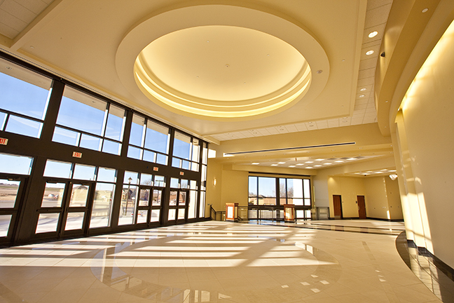 Timberlake Construction project - Weatherford Performing Arts Center