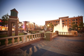 Timberlake Construction project - Bricktown Fountain